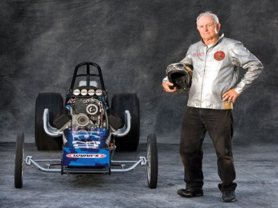 Big Daddy Don Garlits in his 70s